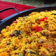 Paella sunset Wedding Catering