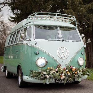 McTrigg Campers - VW Splitscreen Wedding Hire Vintage & Classic Wedding Car