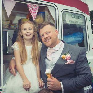 Raffaele's Ice Cream Van Hire In Swindon Ice Cream Cart