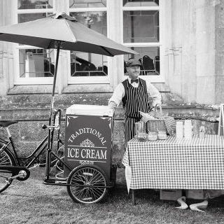 Little beau ice cream tricycle Catering
