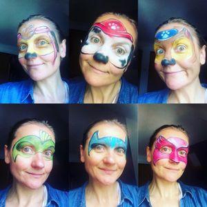 Face Paint Me Happy Face Painter