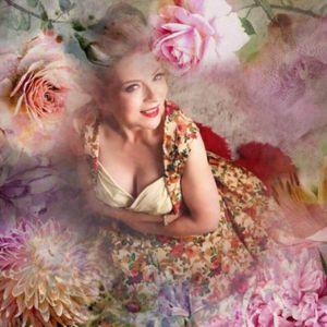 Vintage Celine Rose Vintage Singer