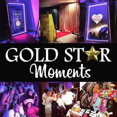 Gold Star Moments Photo Booth