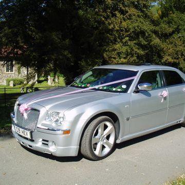 Chevron Limousines Wedding car