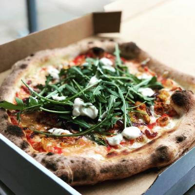 Martin Bros Pizza Co Pizza Van