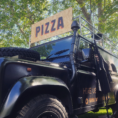 Wood Fired Wonders Pizza Van