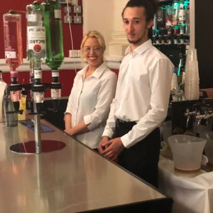 TheBarHopper - always on time, always have a smile & have a passion to serve Event Staff