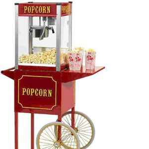 Party Time Events Popcorn Cart