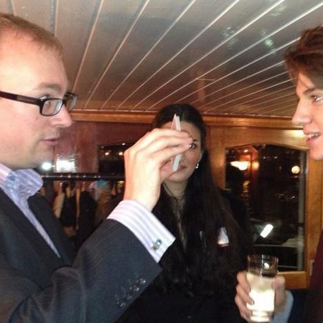 Justin Price Magician Table Magician