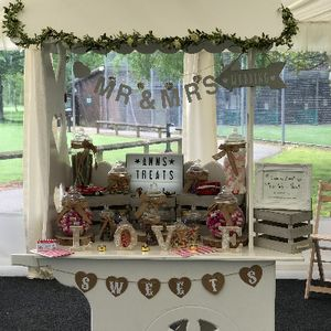Ann's Treats Sweets and Candy Cart