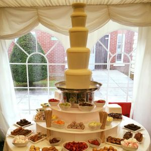 Choc N Dip chocolate fountain hire Sweets and Candy Cart
