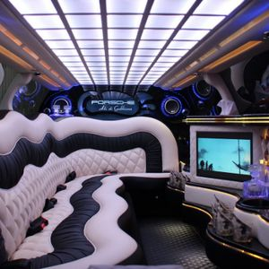 Uk Limo Hire Party Bus