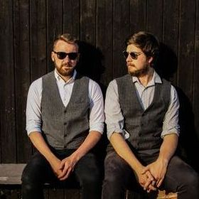 The Bearded Acoustic Duo Function & Wedding Music Band