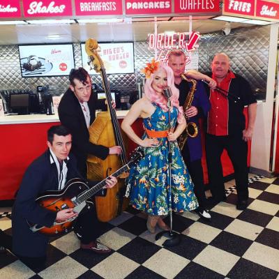 Ruby Rockabella & The Rockin' Robins Vintage Band