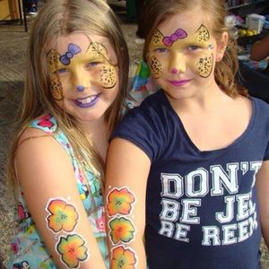 Children's Party Faces Face Painter