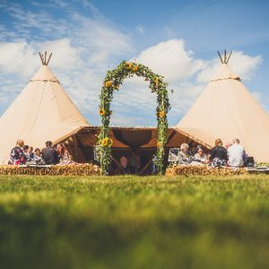Timber & Canvas Tipi