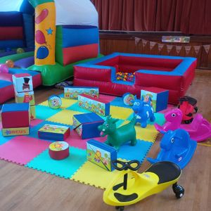 The Bounce Generation Bouncy Castle