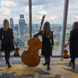 Exclusive Blue Topaz String Trio String Quartet