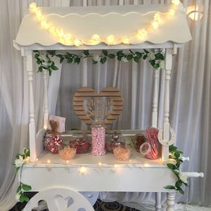 Tutto Delizioso Sweets and Candy Cart