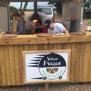 Veloce Fresco Pop Up Pizzas Mobile Caterer