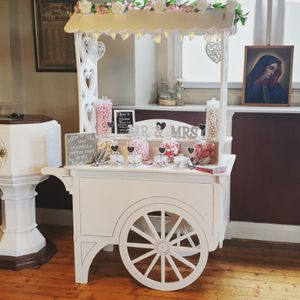 Candy Ever After Sweets and Candy Cart