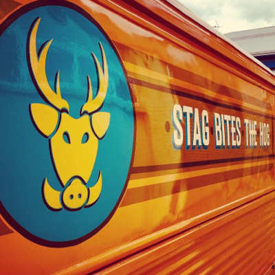 Stag Bites The Hog Mobile Caterer