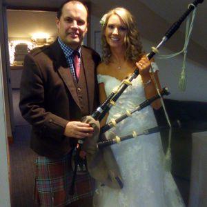 Alan Anderson Wedding Piper Bagpiper