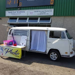 VW Classic Wedding Hire Scotland Photo Booth