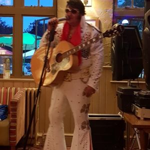 Ian Coulson as ELVIS Tribute Band
