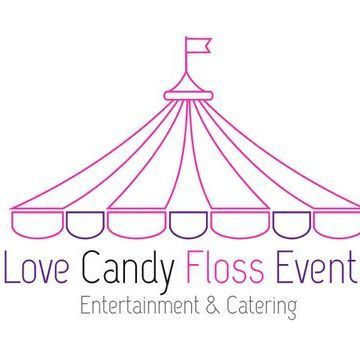 Love Candy Floss Sweets and Candy Cart