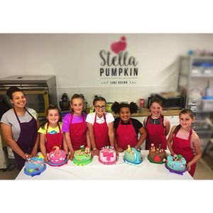 Stella Pumpkin Cake Design Children Entertainment