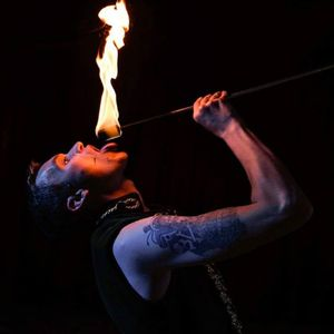 Beckwith and Fuller Events Fire Eater