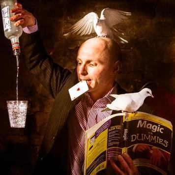 Paul Dawson - Scoop Magic Table Magician