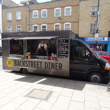 The Backstreet Diner Food Van
