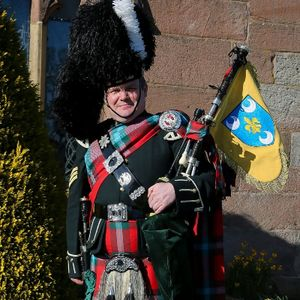 Andrew Paton, Highland Bagpiper Bagpiper