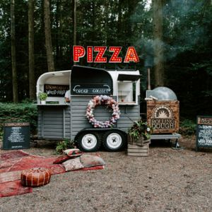 Rolling Dough Pizza Van