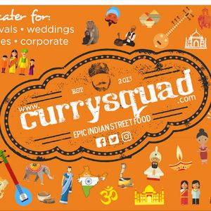 Curry Squad Catering Artisan Indian Street Food Asian Catering