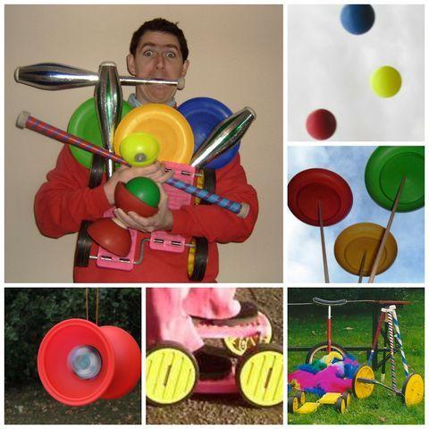 Juggling Jim Stilt Walker