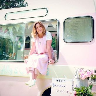 Sweet Ally Scoops Vintage Ice Cream Van Food Van