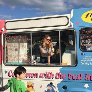 Brighton Gelato Food Van
