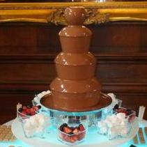 Chocolate Pipe Dream Chocolate Fountain Hire Wedding Catering