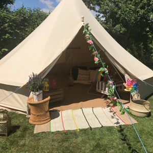 Maria Grace Events Bell Tent