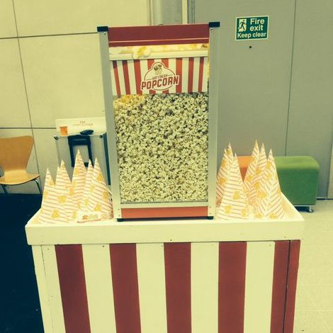 Popcorn Event Hire Popcorn Cart