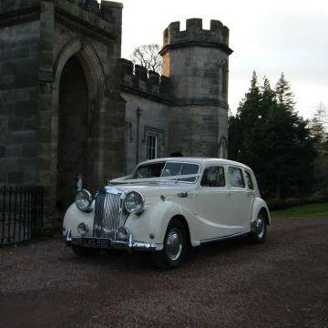 Lothian Classic Wedding Cars Vintage & Classic Wedding Car