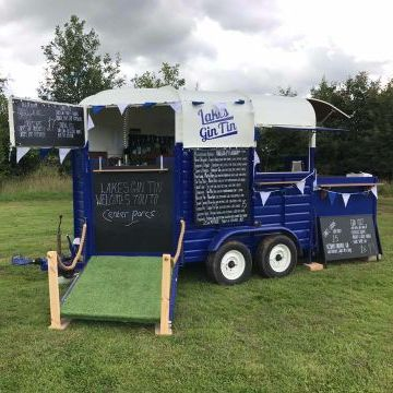 Lakes Gin Tin Mobile Bar