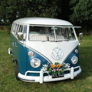 The Little Blue Bus Wedding Company Vintage & Classic Wedding Car