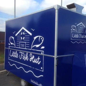 Little Fish Hut Fish and Chip Van