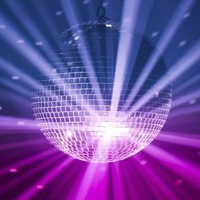 Glitter Ball Disco Mobile Disco