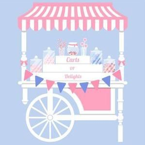 Carts of Delights Sweets and Candy Cart