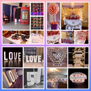 Lillys Love Letters Sweets and Candy Cart